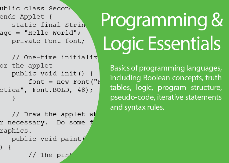 programing essentials